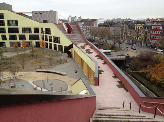 Kalkbreite urban experiment - Zurich
